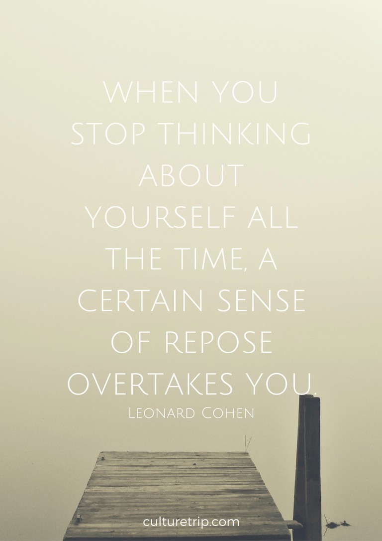 10 Immortal Leonard Cohen Quotes You Need Right Now