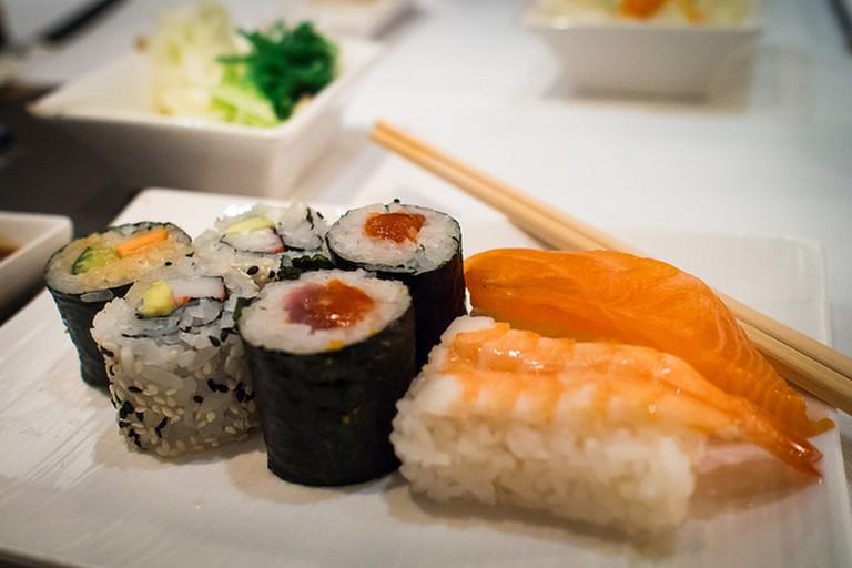 Sushi dish | © Frank Lindecke/Flickr