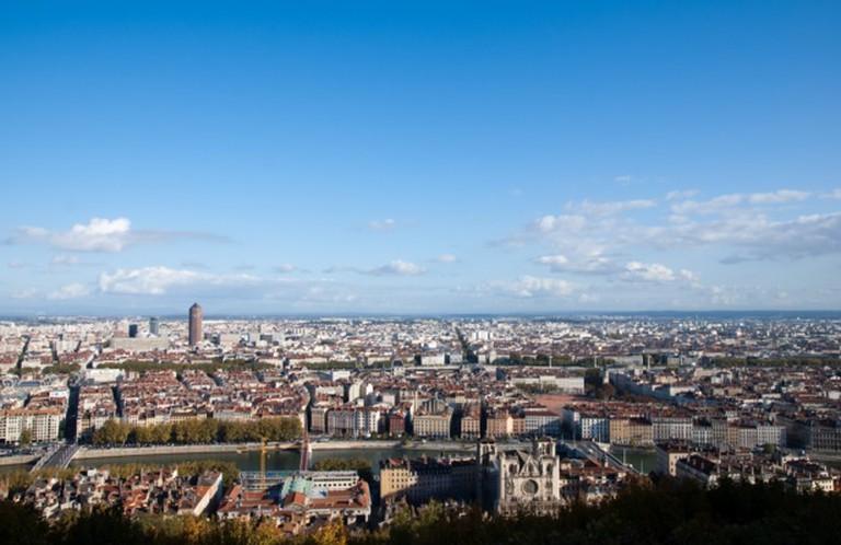 Lyon Skyline   © Bjaglin/Flickr
