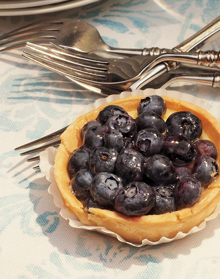 Blueberry tart | © dbreen/Pixabay