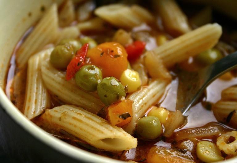 Vegan Noodle Soup| © Catkin/Pixabay