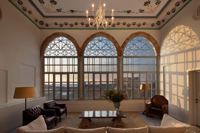 A Living Room at Efendi Hotel   © Asaf Pinchuk