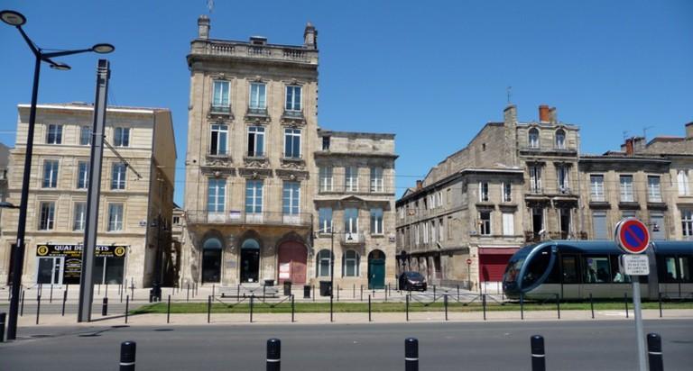 Vue générale du 138 Quai des Chartrons   © Galerie Loic Saint-M'Leux/WikiCommons