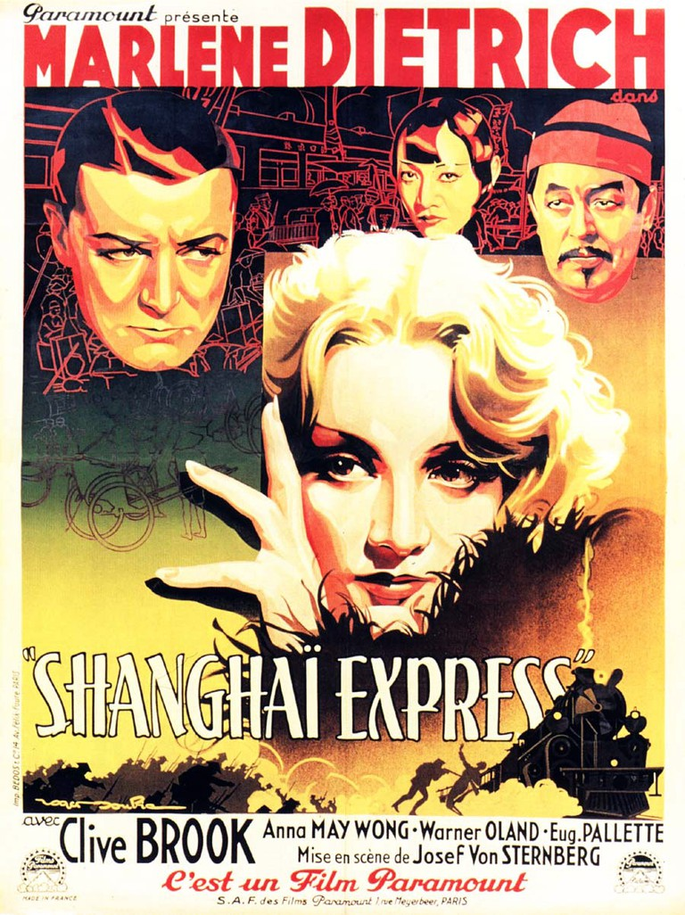 Shanghai Express Poster | © Paramount Pictures