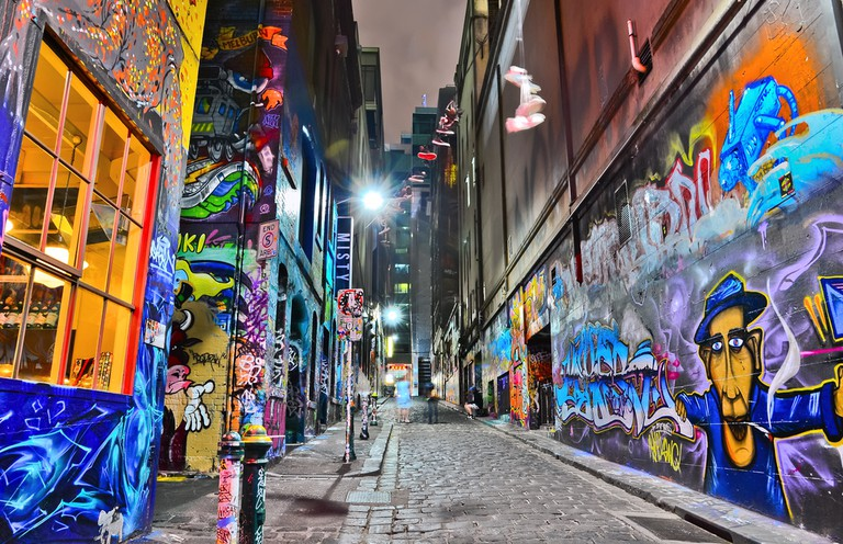 Known for its graffiti art Melbourne has many hidden jewels © Javen / Shutterstock