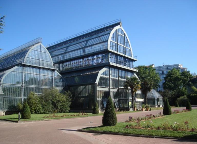 Jardin botanique dans le Parc de la Tête d'Or à Lyon | © Simlaurent/WikiCommons