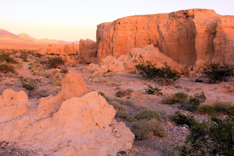 Tule Springs Fossil Beds at Sunset   © NPCA Photos/Flickr