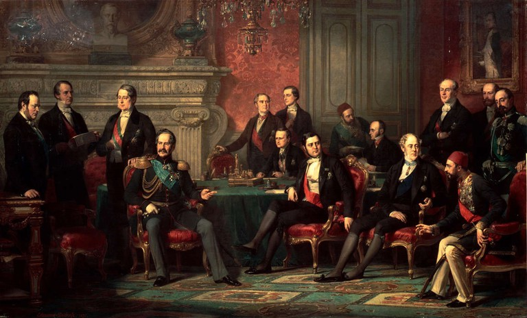 Vienna Congress as depicted by Édouard-Louis Dubufe |© Wiki Commons