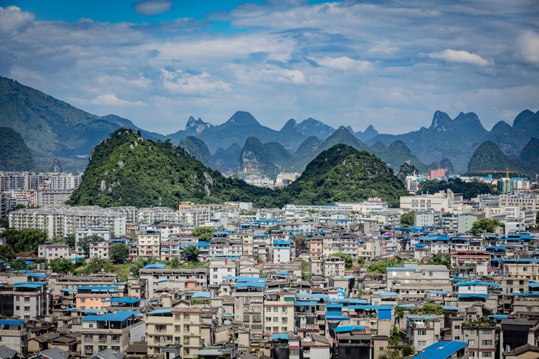 View on Guilin from Fubo Hill | © Thomas Bächinger/Flickr