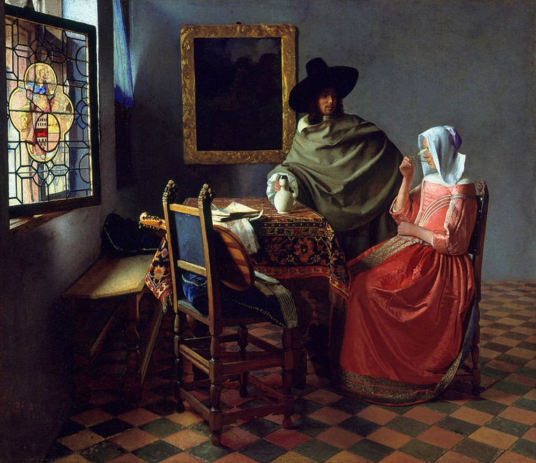 The Wine Glass, Vermeer | Public Domain/WikimediaCommons