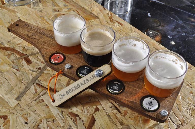 The Beer Flight @Beer Bazaar
