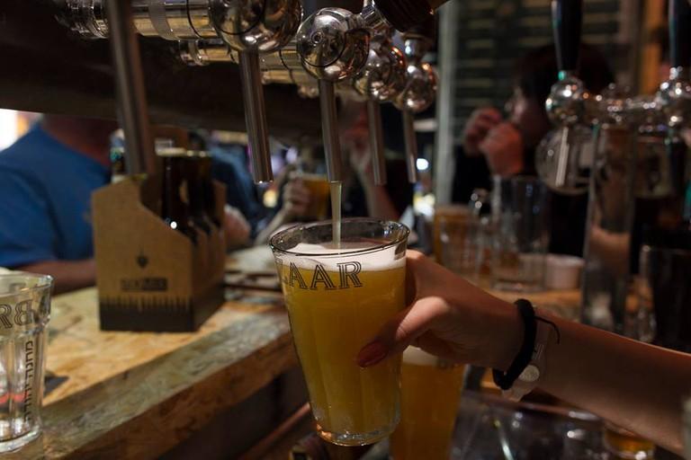 11 Beers on tap @Beer Bazaar