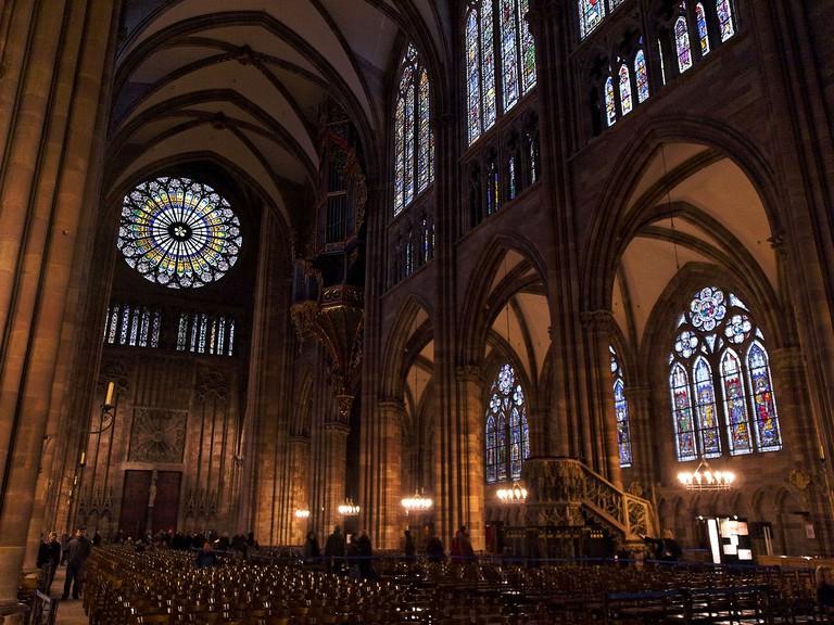 Strasbourg Cathedral Interior   © Stephane Martin/WikiCommons