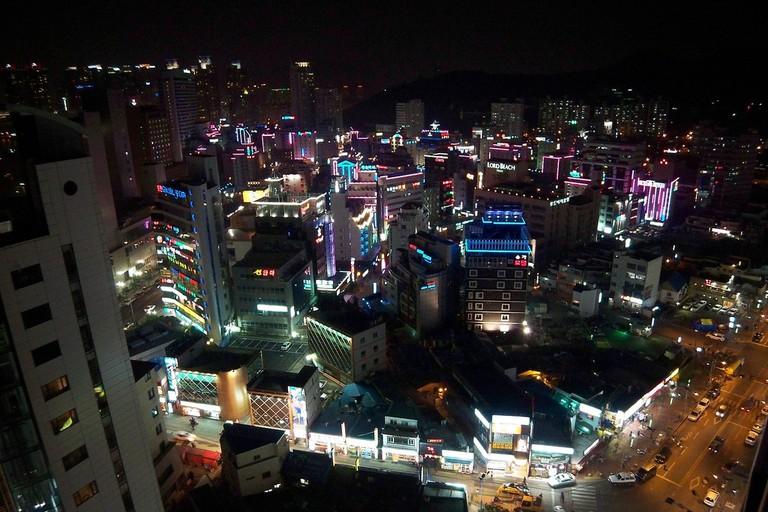 Busan at night ©David Peterson