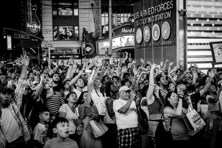 Times Square Crowded | © Guilherme Nicholas/Flickr
