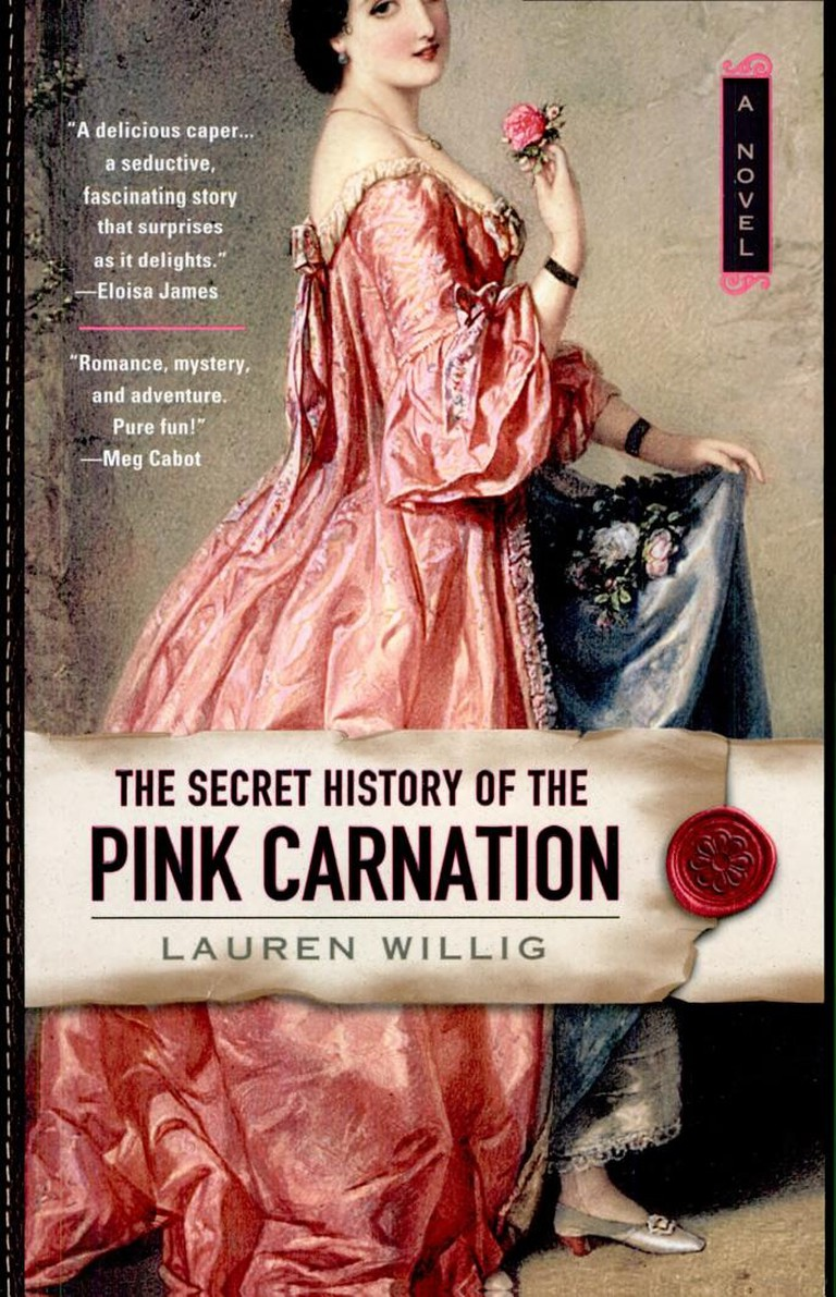 The Secret History of the Pink Carnation | © New American Library