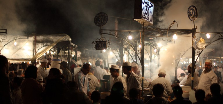 Djemaa El Fna | © Mark Rowland/Flickr