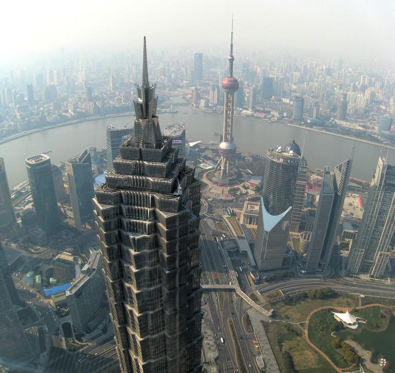 Jin Mao Tower | © Joan Campderrós-i-Canas / flickr