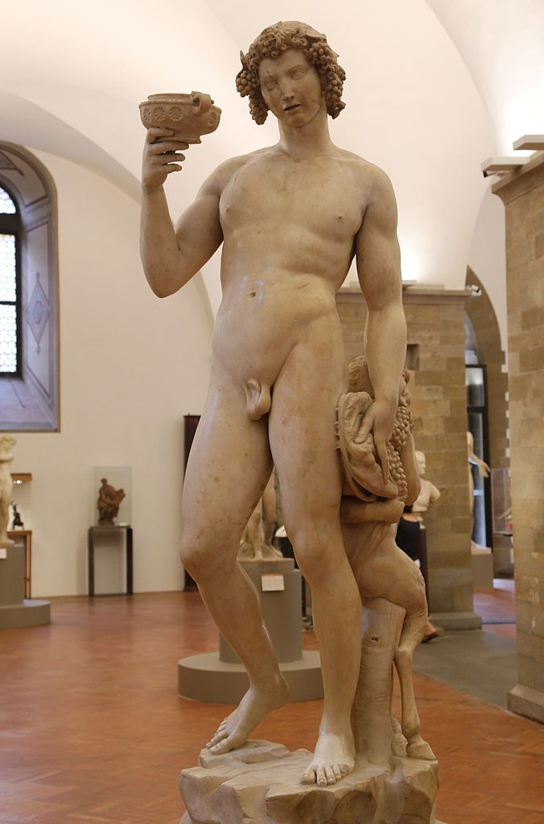 Michelangelo, Bacchus, Museo Nazionale del Bargello, Florence, 1496-1497 | © Rufus46/WikiCommons