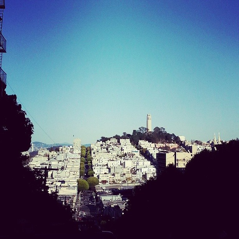 View of Coit Tower © Brett Gordon