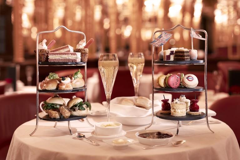 Hotel Cafe Royal - Oscar Wilde Bar - London Royal Tea | Courtesy Café Royal, London