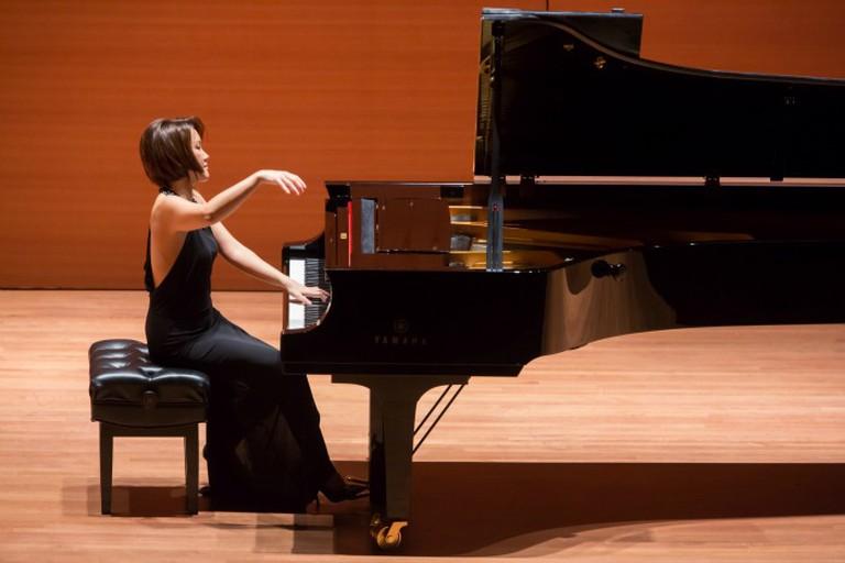 Klara Min performing Photo Credit © Chris Lee