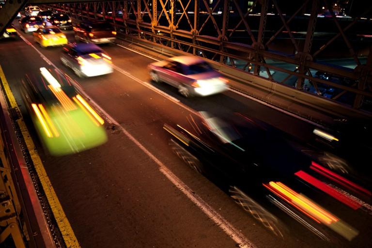Rush Hour over the Brooklyn Bridge | © Dan M. Lee Photography