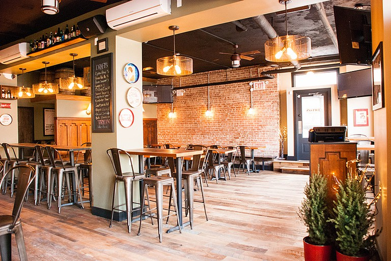 Tryon Public House Interior   Image Courtesy of Tryon Public House