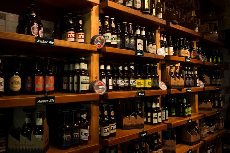 The Beer selection | © Yehudah Jacobs