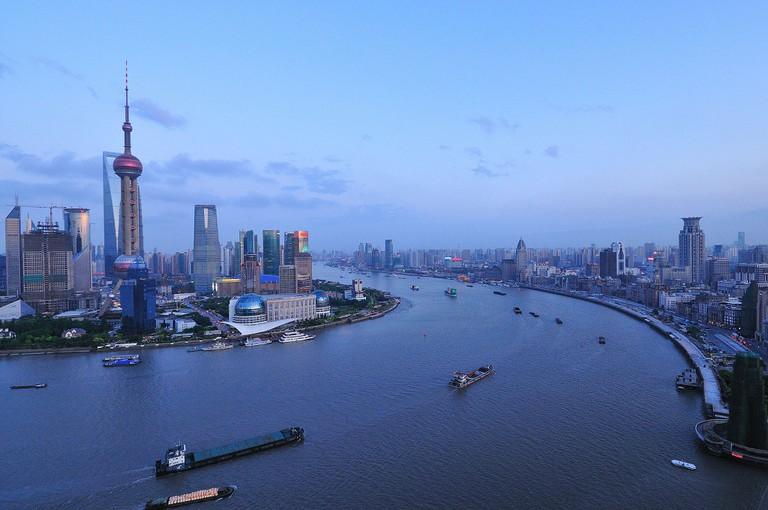 Huangpu River | © David Wong/WikiCommons