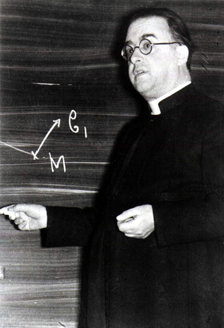 'God cannot be reduced to the role of a scientific hypothesis.', Lemaître used to say / © WikiCommons