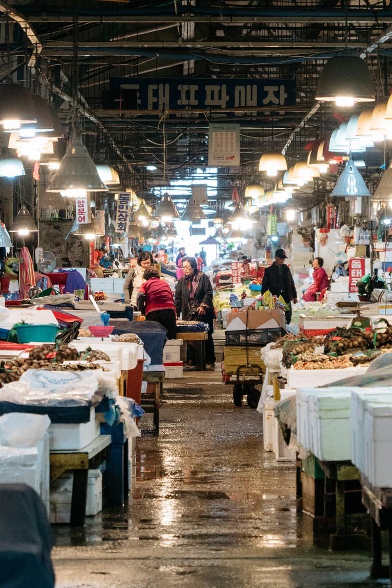 Noryangjin Fish Market-Seoul-South Korea