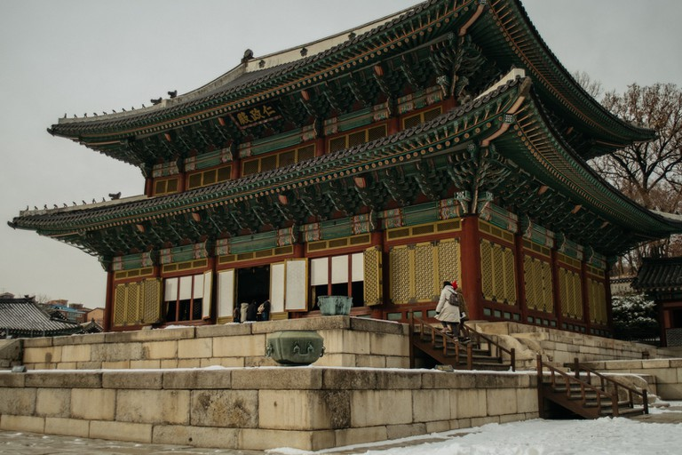 Bukchon Hanok Village and Palace-Seoul-South Korea