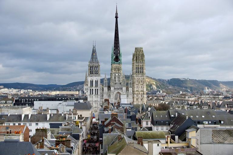 Notre Dame de Rouen Cathedral, Rouen   ©Frédéric Bisson/ Flickr
