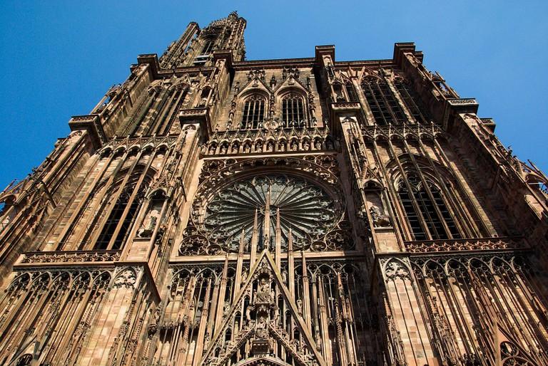 Notre Dame de Strasbourg Cathedral   © Jackmac Pixabay