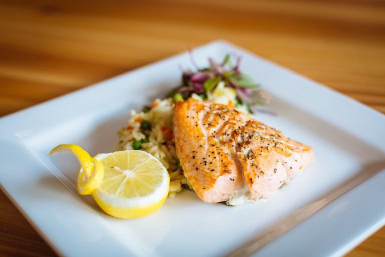 Salmon ©The Bluffton Room