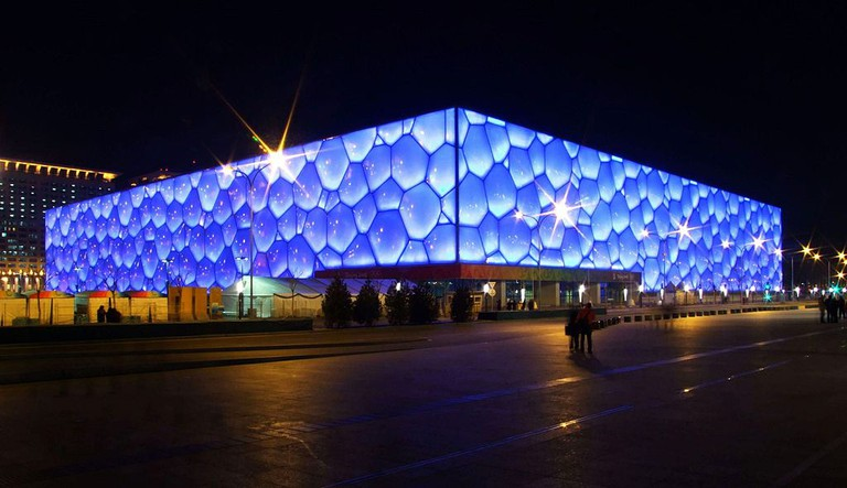 Beijing Aquatics Center | © Charlie Fong/Wikicommons