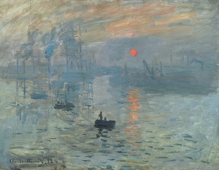 Impression, Sunrise by Claude Monet ©Wartburg.edu/WikiCommons