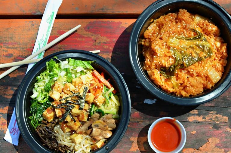 Bibimbap & Fried Rice | © Stephanie / Flickr