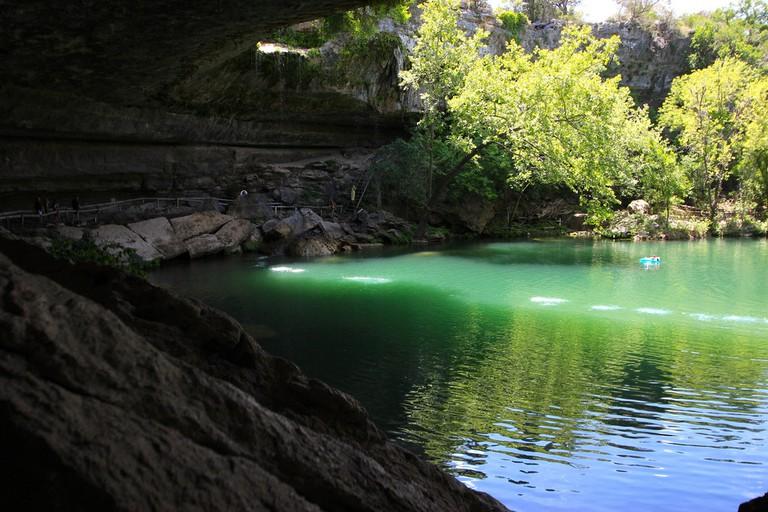 Hamilton Pool, Dripping Springs | © SandraHintzman/Flickr