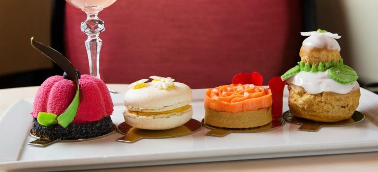 Chelsea Flower Show Inspired Desserts   Courtesy of Rose Garden