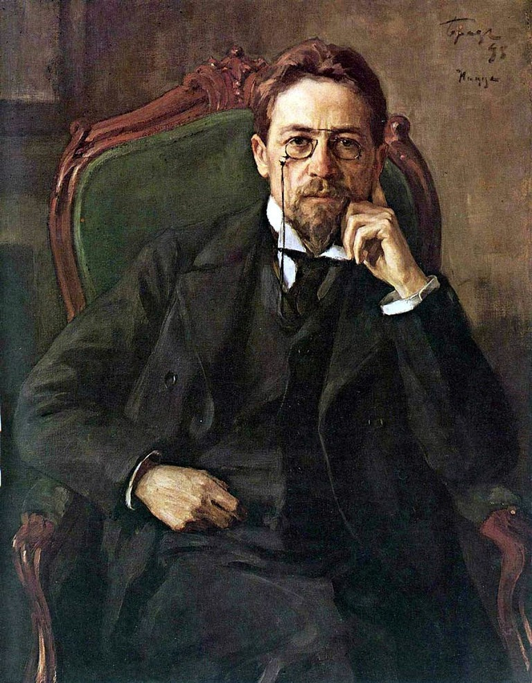 Chekhov's portrait, 1898| © Public Domain* / Osip Braz / WikiCommons