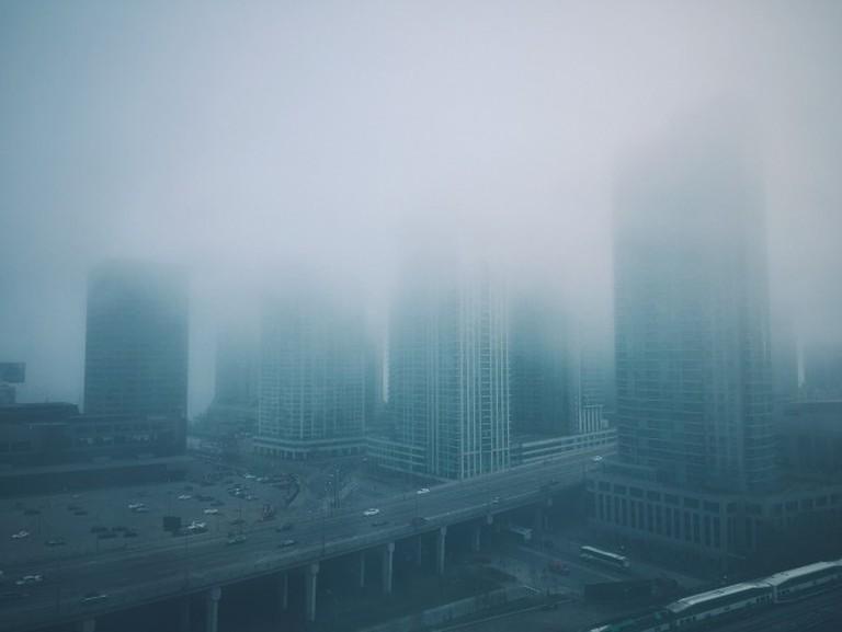 Toronto in the fog | © Adam Schoales/Flickr
