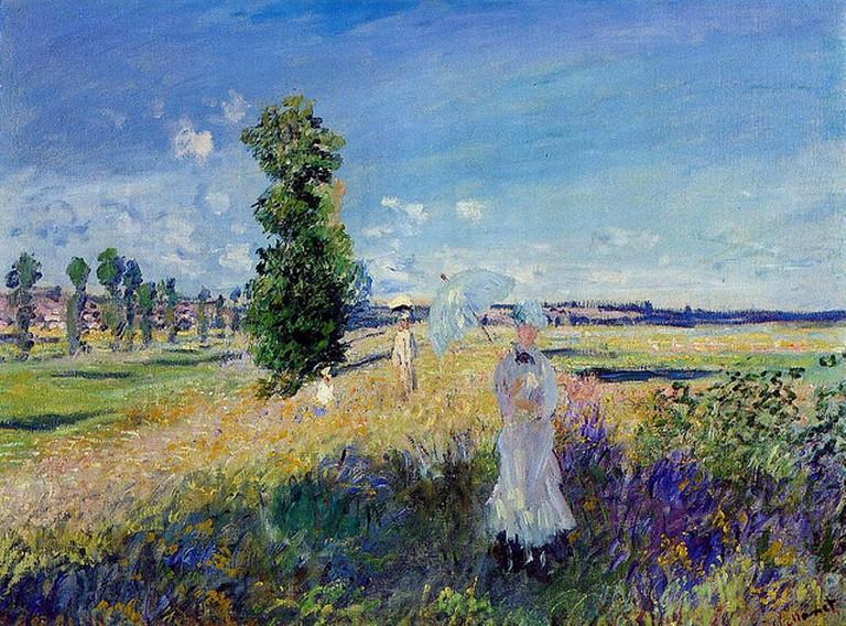 Promenade à Argenteuil, Claude Monet | © Art Gallery ErgsArt by ErgSap/Flickr
