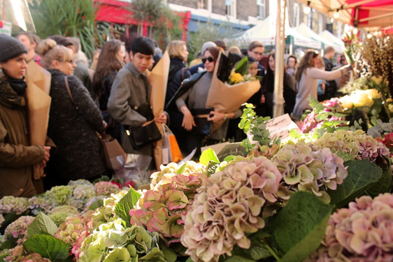 Columbia Road Flower Market – every Sunday   © Adam Groffman