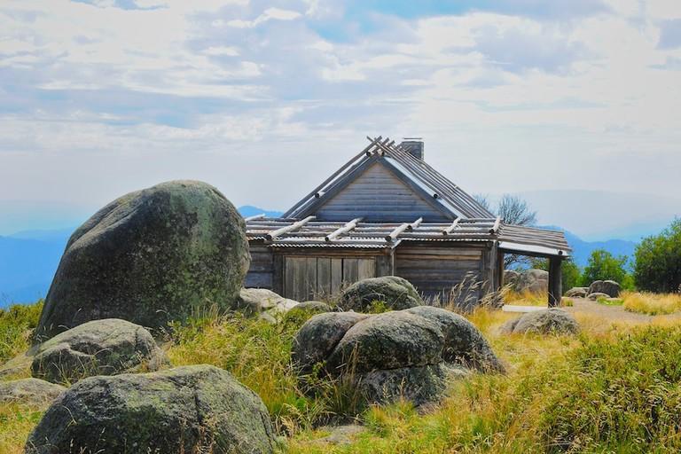 Craig's Hut, Mt. Stirling| © Winston Mcleod/Flickr