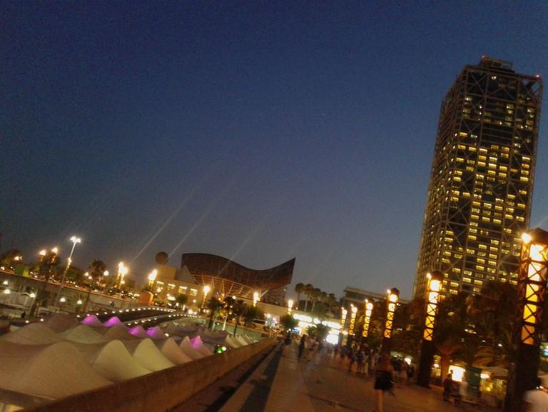 Port Olimpic | Courtesy of Elena Isaeva / nelenelenblog.wordpress.com