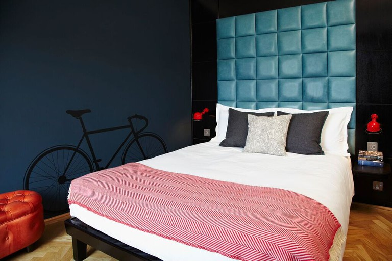 Room inside The Hoxton hotel in Shoreditch   Courtesy of The Hoxton