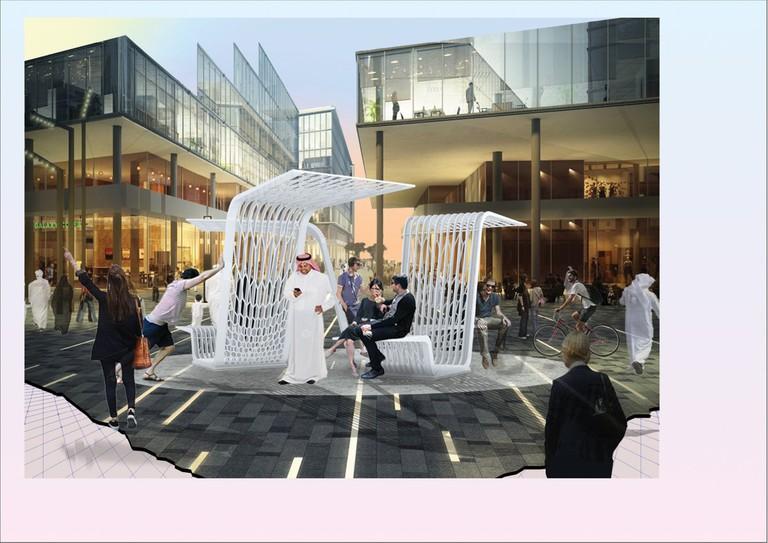 Architect Fortune Penniman Take Shelter, finalist in Urban Commissions | Courtesy Design days Dubai