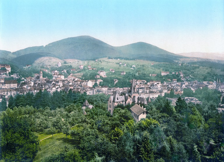 The spa town of Baden-Baden © wikipedia